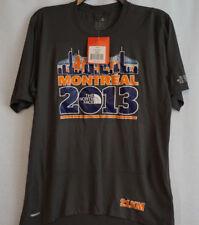 THE NORTH FACE 2013 Montreal 21KM Grey Running Shirt Small NWT