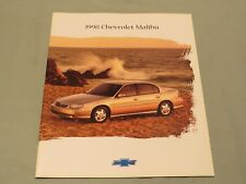 Original 1998 Chevrolet Malibu Dealer Brochure