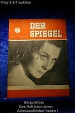 Der Spiegel 27/49 1.7.1949 Zuerst nur 30 Sekunden. Michele Morgan