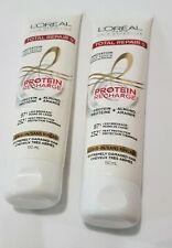 2 Loreal Total Repair 5 Protein Recharge Leave-in Conditioner extremely damaged