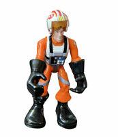 Star Wars Playskool Jedi Force Luke Skywalker X-wing Pilot Action figure vtg