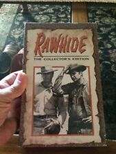 Rawhide VHS Collector's Edition Inci Of The Tumbleweed Wagon & Inci  With An Exe