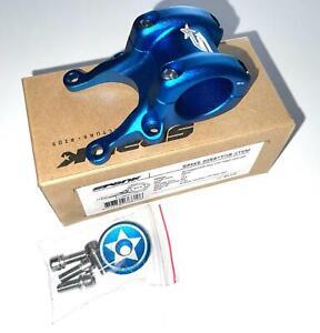 SPANK Director DM Direct Mount Bike Stem Blue CNC 12 d Rise 50mm 31.8mm New
