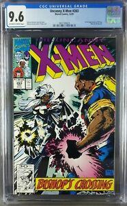 Uncanny X-Men #283 (1991) CGC 9.6 NM 3821184023 OWW 1st full app Bishop 