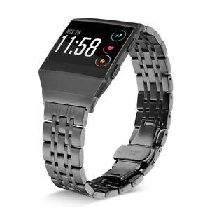 Premium Edelstahl Uhrenarmband Armband Ersatz Band für Fitbit Ionic Smart Watch