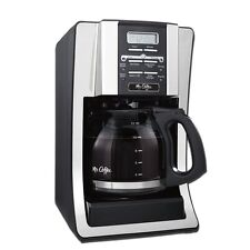 NIB Mr. Coffee 12 Cup Programmable Automatic Drip Coffee Pot Maker Brewer
