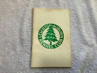 Vintage 1972 Dog Show Catalog Lewiston Auburn Kennel Club Maine