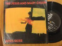 "The Jesus And Mary Chain: April Skies: NEG 24 7"" Vinyl; Single Free UK Post"