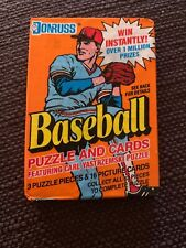 1990 Donruss Unopened Wax Pack Of Baseball Cards