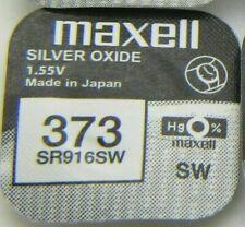 Maxell Watch Battery 1.55v Batteries Model - 373 - SR920SW UK SELLER