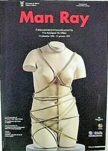 MAN RAY  POSTER FOR 1990,s EUROPEAN EXHIBITION