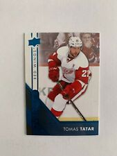 2016-17 Upper Deck Overtime Blue #129 Tomas Tatar - Detroit Red Wings