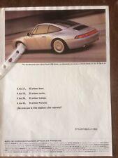 Publicidad Automóvil Porsche De 1996
