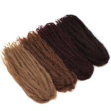 Afro Kinky Twist Crochet Braiding Hair Long Marley 40 in for Braids or Locs