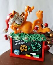 Paws 20 years of Garfield Ornament 1996 Garfield Chalkboard Teacher