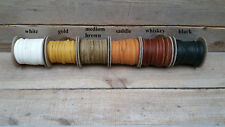 buffalo /bison leather lace 6 colors to pick from F-10