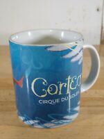 Corteo Cirque Du Soleil Coffee Mug Cup Ceramic Blue