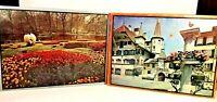 2 Lafayette Picture Puzzle 1000 Piece, Keukenhof Holland and Bueren Switzerland