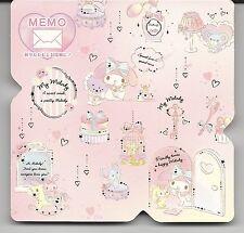 Sanrio My Melody Notes Fold Memo