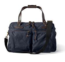FIlson 48-Hour Duffle 70328 Navy Weekend Overnight Tin Cloth Bag 11070328