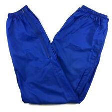 Nike Windbreaker Track Pants Men's Size Large Unlined Navy Blue vtg 90s