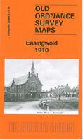 OLD ORDNANCE SURVEY MAP EASINGWOLD 1910 UPPLEBY LONG STREET MARKET PLACE GALTRES