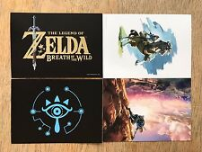 Legend Of Zelda Breath Of The Wild Collectors Edition Art Post Cards (2 cards)