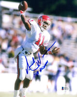 ANDRE WARE SIGNED AUTOGRAPHED 8x10 PHOTO + 89 HEISMAN HOUSTON BECKETT BAS