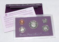 United States Mint Proof Set 1990 United States Mint Proof Set with COA