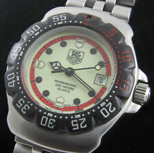 TAG Heuer Matte Wristwatches with Date Indicator