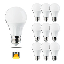 Aigostar - Bombillas Led E27 9W equivalente a 70W. Luz calida 720lm,Packs de 10