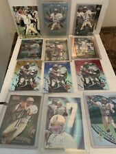 Danny Wuerffel 13 Card Lot: RC's/Autograph/Mirror Gold Blue Red/#ed/Game Used +