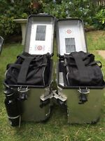 BMW R1200GS ADVENTURE ALUMINIUM Pannier Liner Inner bags Great Quality Pair New