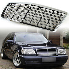 S600 W140 S-CLASS Chrome Grille Grill For MERCEDES BENZ S320 S430 S500 OEM