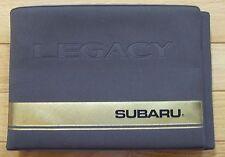 1995 Subaru Legacy Car Auto Drivers Owners Manual