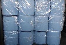12 Rollen Putztuch 20 cm Putztücher Papier-Rolle blau Putzpapier