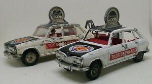 Vintage Corgi Gift Set 13 Renault 16 Film Unit Car X 2 1968 - 1972