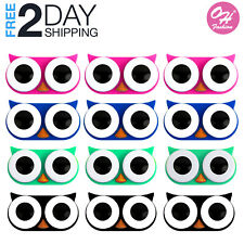 12 Month Pack Contact Lens Case Owl Colors Travel Kit Storage Box Container