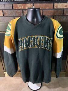 Vintage Green Bay Packers NFL Football Crewneck Sweatshirt Men Medium Super Bowl