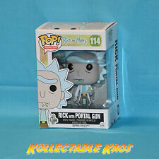 Rick and Morty - Rick with Portal Gun Pop! Vinyl Figure + POP PROTECTOR