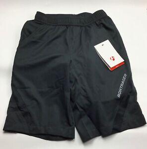 Bontrager / Quantum Padded Cycling Loose Fit Bike Shorts / Black / Mens XS