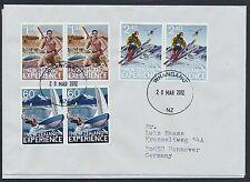 Neuseeland 2 mal 2863/68 auf 2 Briefen anch Deutschland / Trendsport ...........