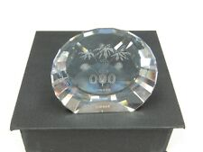 Swarovski 2000 Millennium Paperweight ( Retired ) - Mint In Original Box