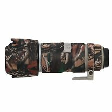Canon 70-200mm F2.8 IS Neoprene Camera Lens Protection Cover Camouflage Woodland
