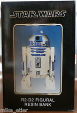 Star Wars R2-D2 Resin Figural Bank (Necca) New in Box