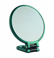 Danielle 10 x Magnification EMERALD Soft Touch Handheld Mirror D1067EM