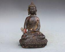 Bronze Medicine Buddha Figurine Buddhism Bhaisajyaguru Tathagata buddha statue