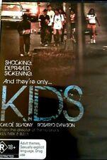 Kids Chloe Sevigny Rosario Dawson DVD R18 Region 4 Oz Larry Clark
