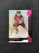 2019-20 UPPER DECK ARTIFACTS TAYLOR HALL RARE STARS PINK #ed 21/85