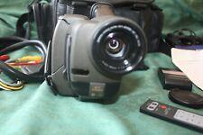 Sanyo VM-EX550P Video Cámara Videograbadora Paquete Con Bolsa